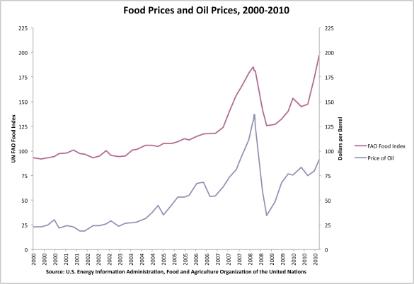 food prices essay