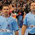 Referees Slave Nikolov und Gjorgji Nachevski pfeifen Viertelfinale Deutschland - Katar