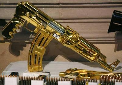 narco Gold Ak-47 El Chapo Guzman
