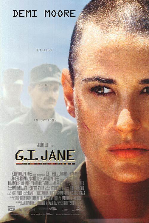 Demi Moore G.I. Jane Movie