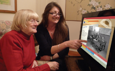 computer interactive reminiscence and conversation aid
