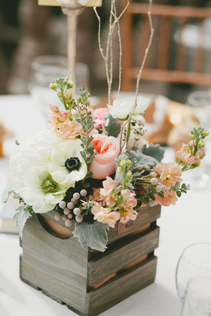 Beautiful Bridal Rustic Wedding Ideas Wooden Crates