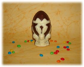 Huevo con conejos