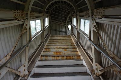 津軽今別駅階段