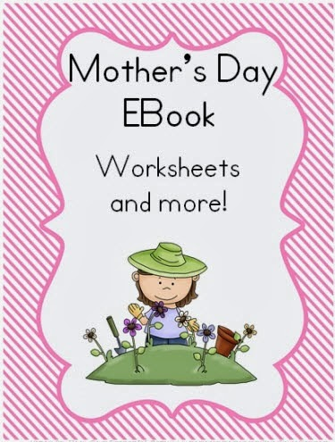 Mother's Day EBook Worksheets (US Spelling)