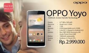 harga Hp Android Murah Oppo yoyo
