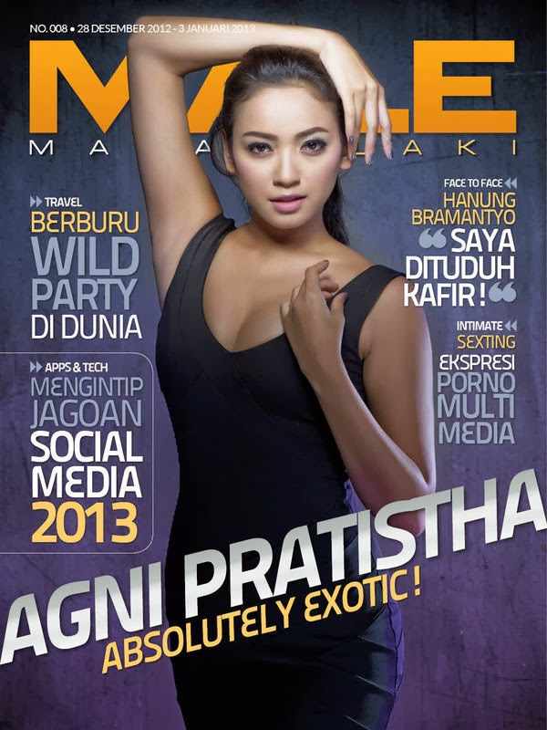 berpose untuk majalah dewasa lainnya agni pratista majalah dewasa male