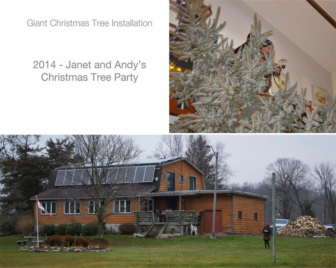 Annual Giant Christmas Tree Party | Robin Davis Studio