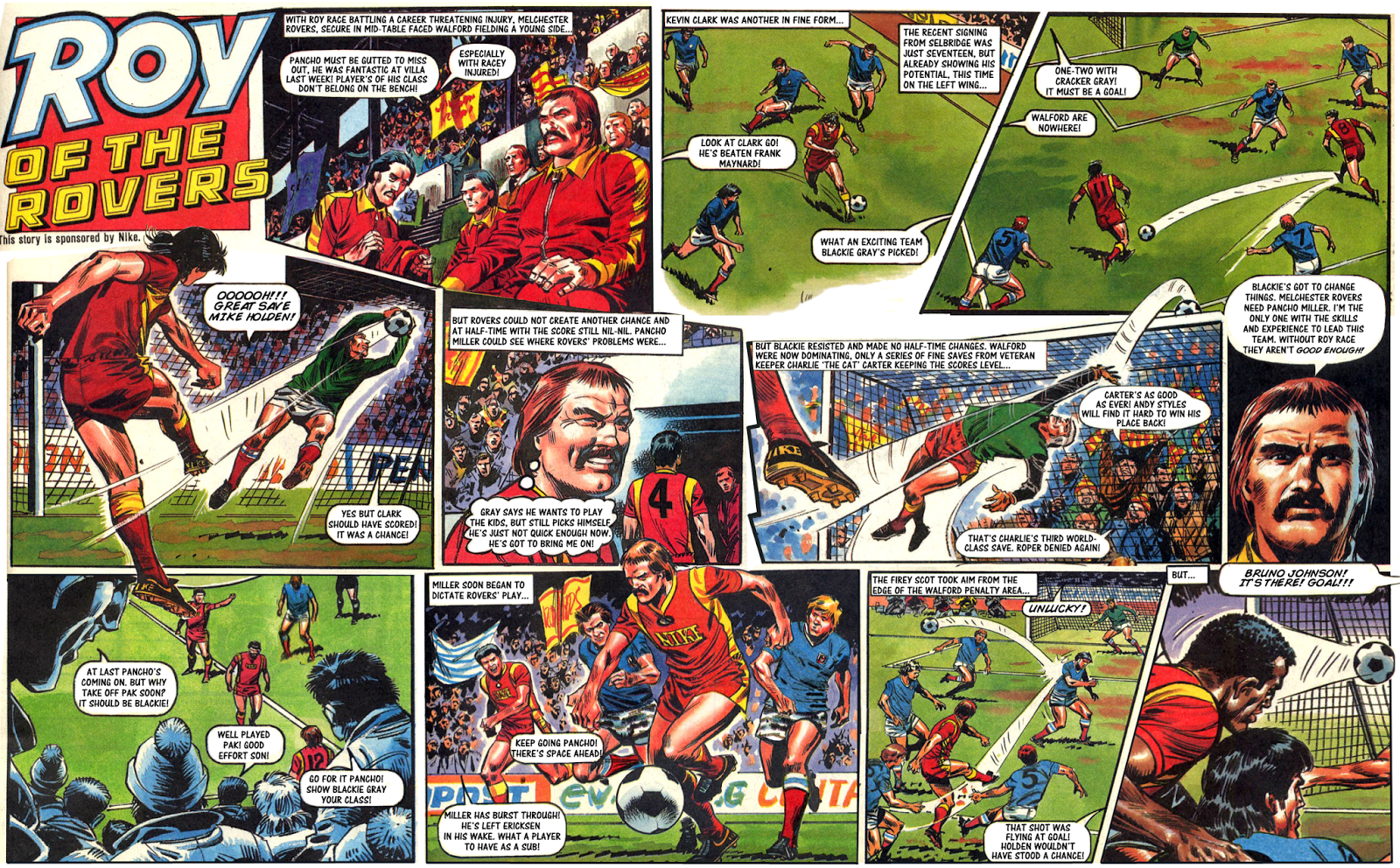 Pancho's Plan - Melchester Rovers vs Walford Rovers 86/87