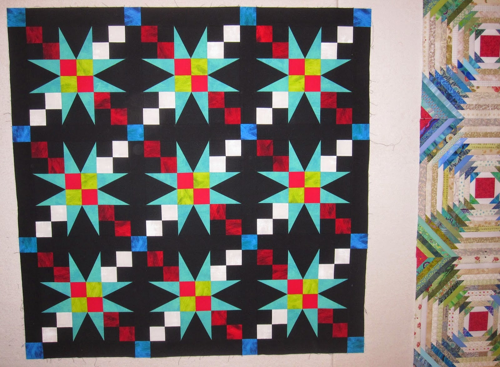 Cheeky Cognoscenti: Amish Baby 54-40 Or Fight is Sashed and Ready ... : 54 40 or fight quilt - Adamdwight.com
