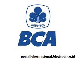 Lowongan Kerja PT. BANK BCA