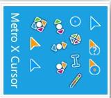 """""""Metro X Cursor"""" Kumpulan Kursor Keren Untuk Windows"""