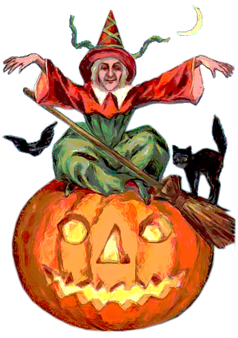 calabazas,halloween,vintage,clipart,png,tubes,recursos,free