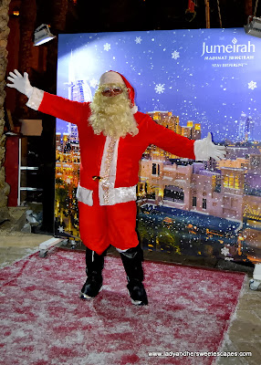 Santa Claus at Souk Festive Market