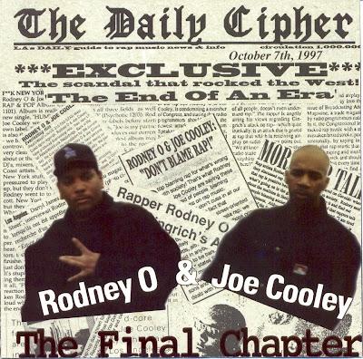 Rodney O & Joe Cooley – The Final Chapter (1998, CD, VBR)