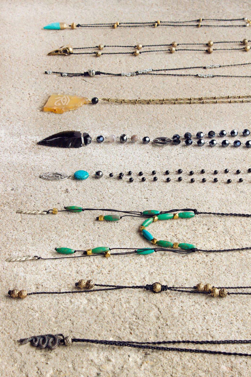 men's jewelry by Quiet Lion Creations.