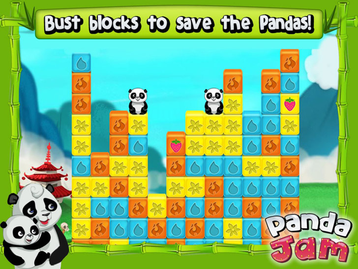 Panda Jam Free App Game By SGN
