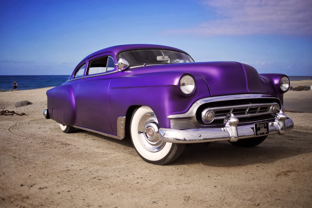 LOWTECH | traditional hot rods and customs : for sale: 1953 chevy kustom
