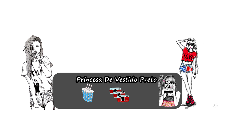 Princesa De Vestido Preto