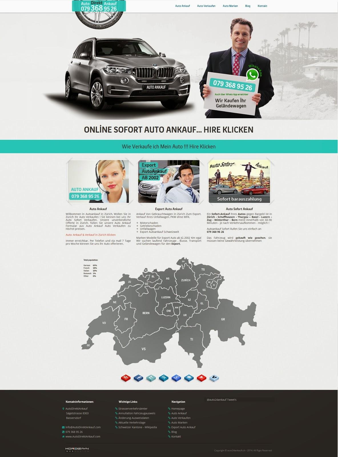 Auto Direkt Ankauf  Ana Sayfa