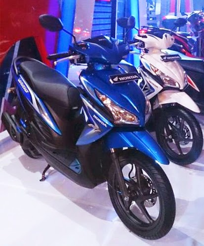 Harga Dan Pilihan Warna Honda Vario FI Injeksi Terbaru 2014