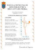 ESCUELA MUNICIPAL DE GIMNASIA RITMICA NIEBLA