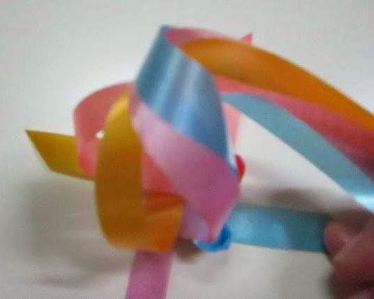 diy fold How to weave fold rose decoration ribbon Cómo tejer la cinta rosa
