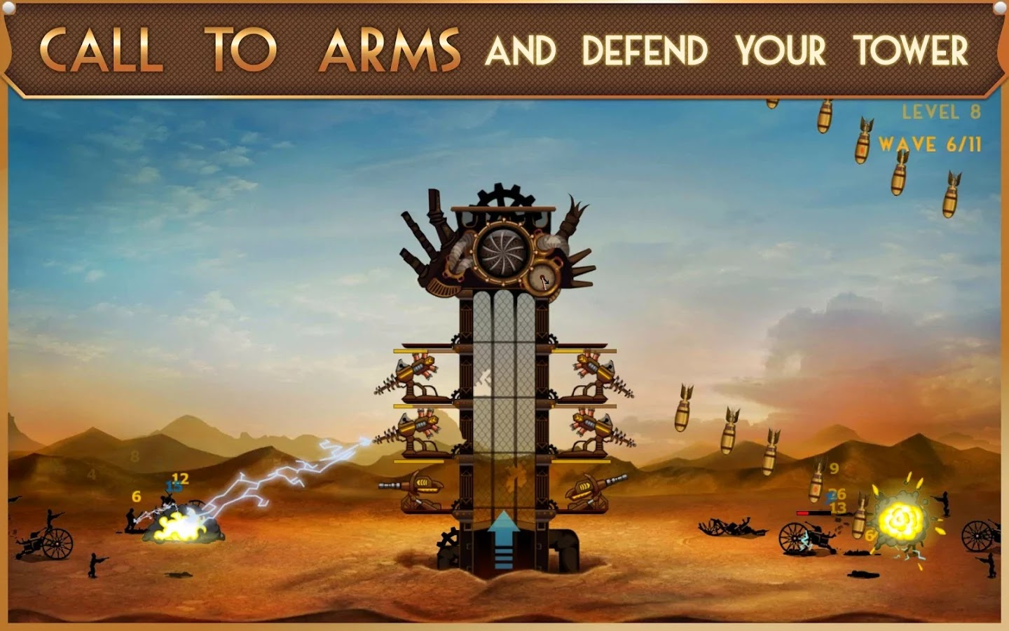 Steampunk Tower v1.1.0 Mod [Unlimited Points]