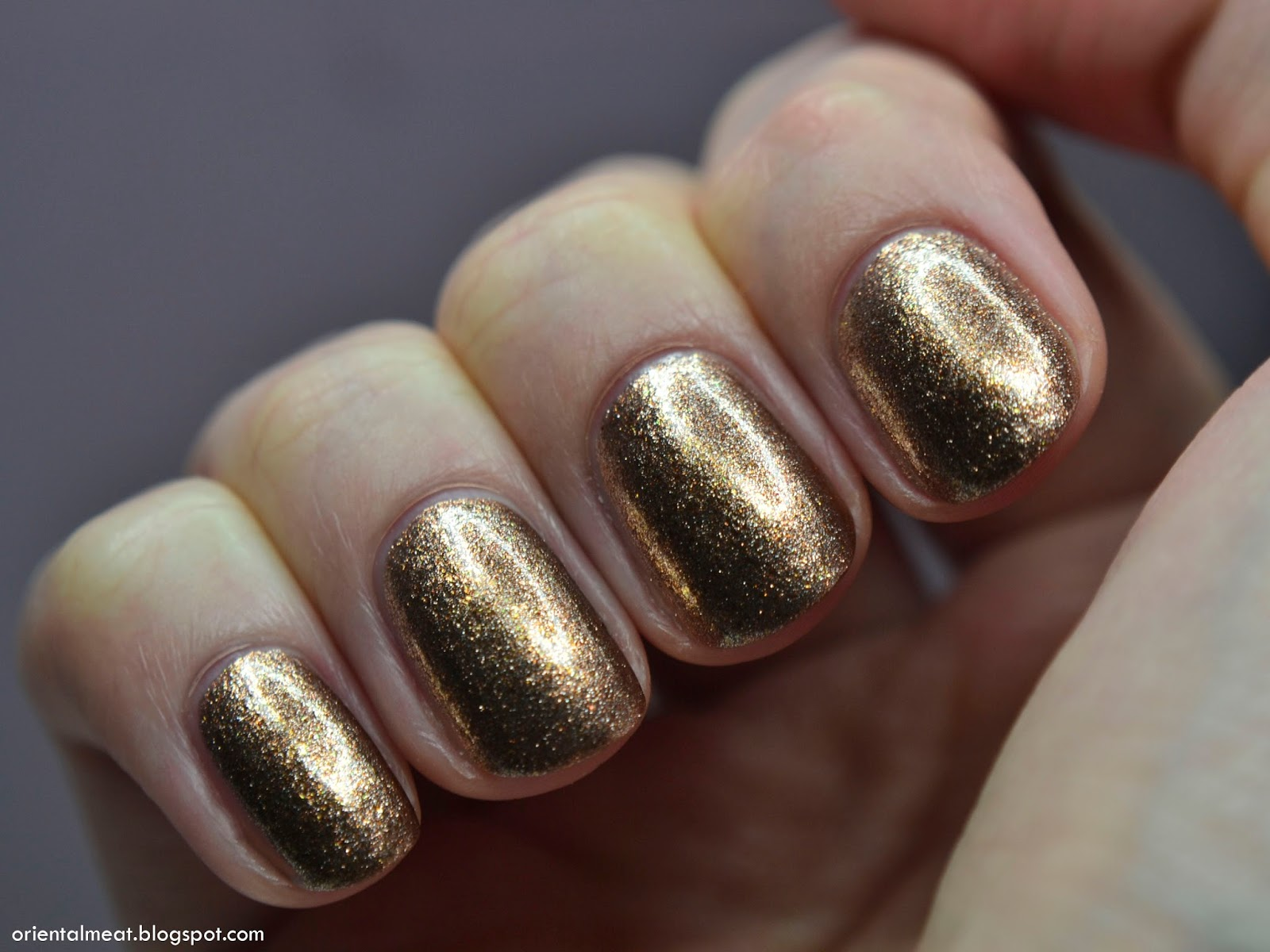 China Glaze-Goldie but goodie