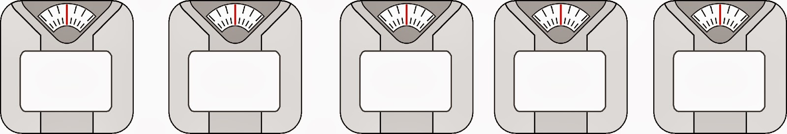 Scale Weight Loss Stickers to Print at Home