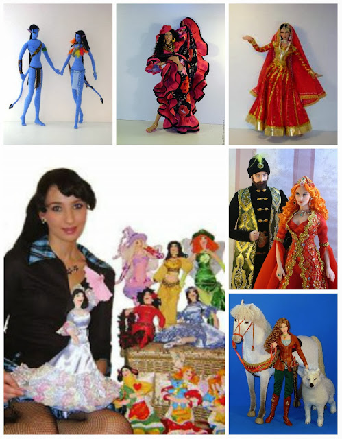 Куклы Ларисы Исаевой