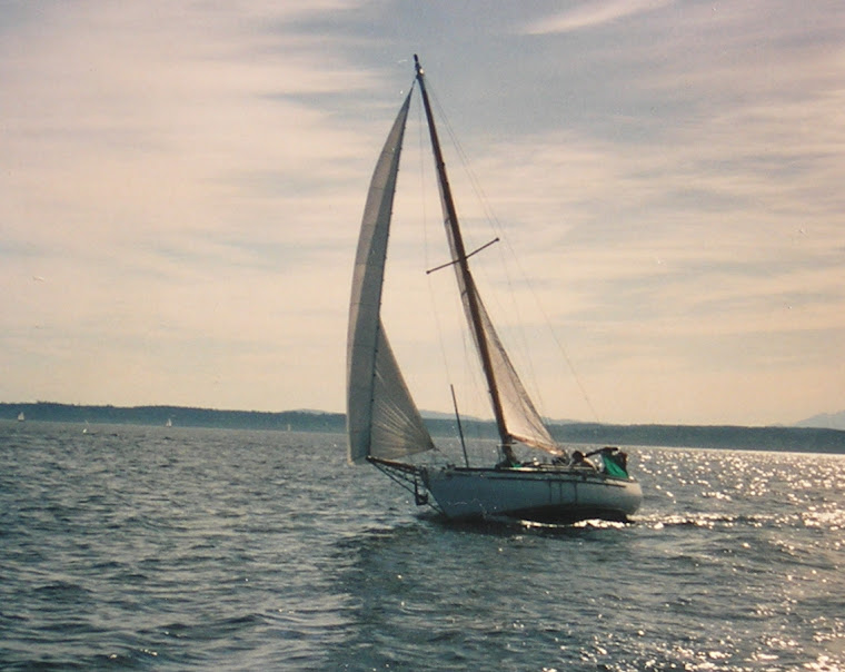 25' Cutter finished in 1993 from fiberglass hull by Terrapin Boat Works