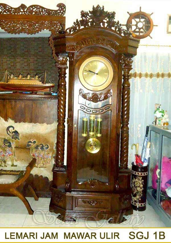 gambar lemari jam mawar