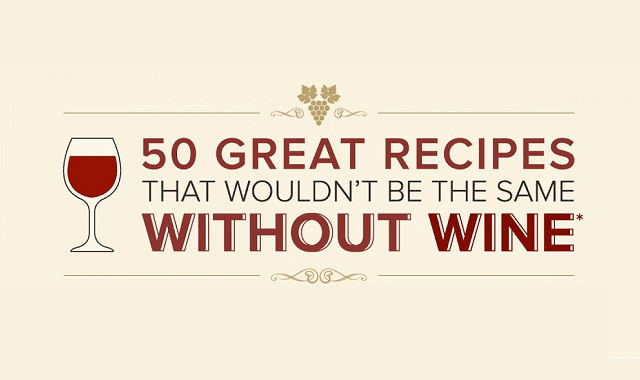 50 Great Recipes That Wouldn't Be the Same Without Wine