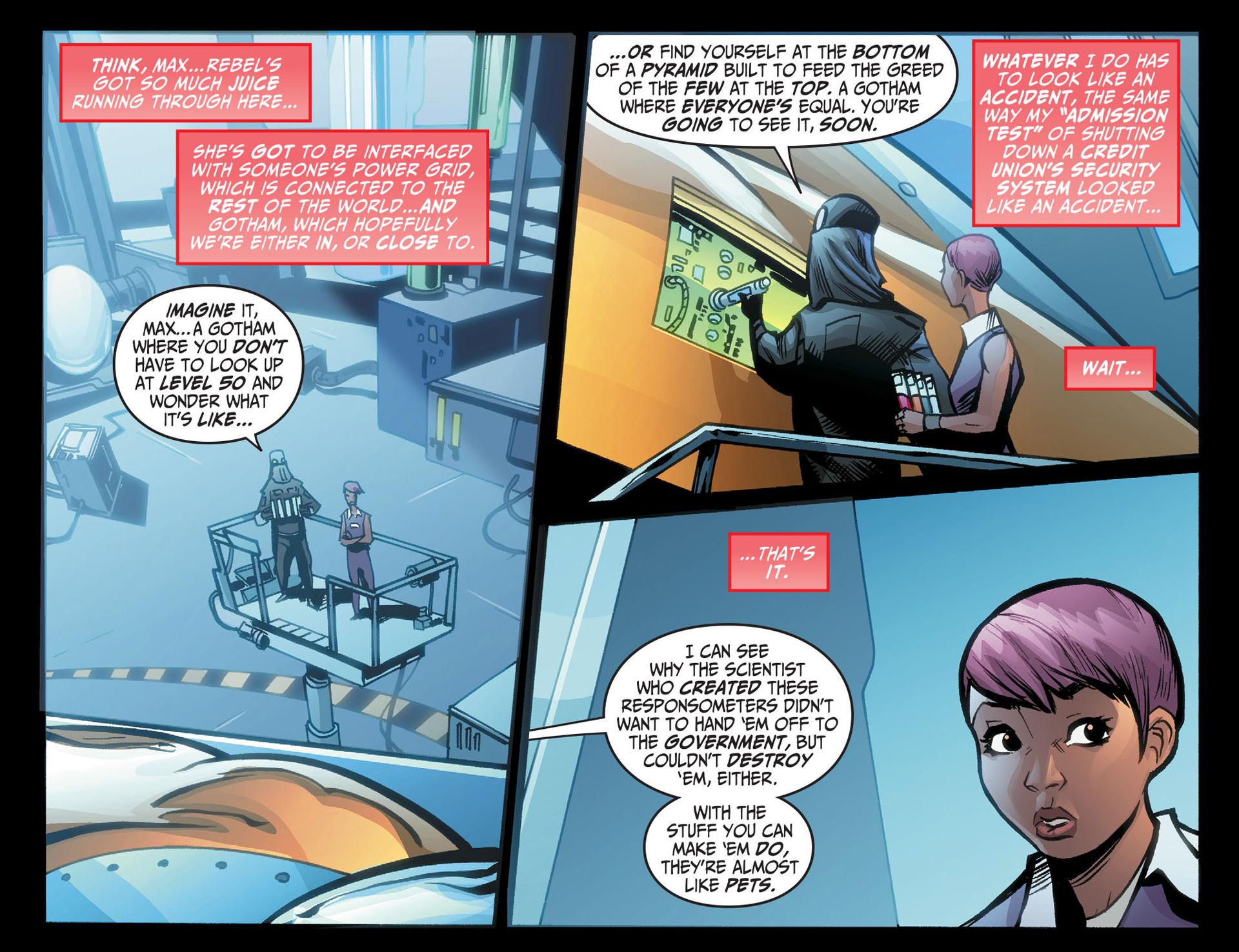 Batman Beyond (2012) Issue #22 #22 - English 9