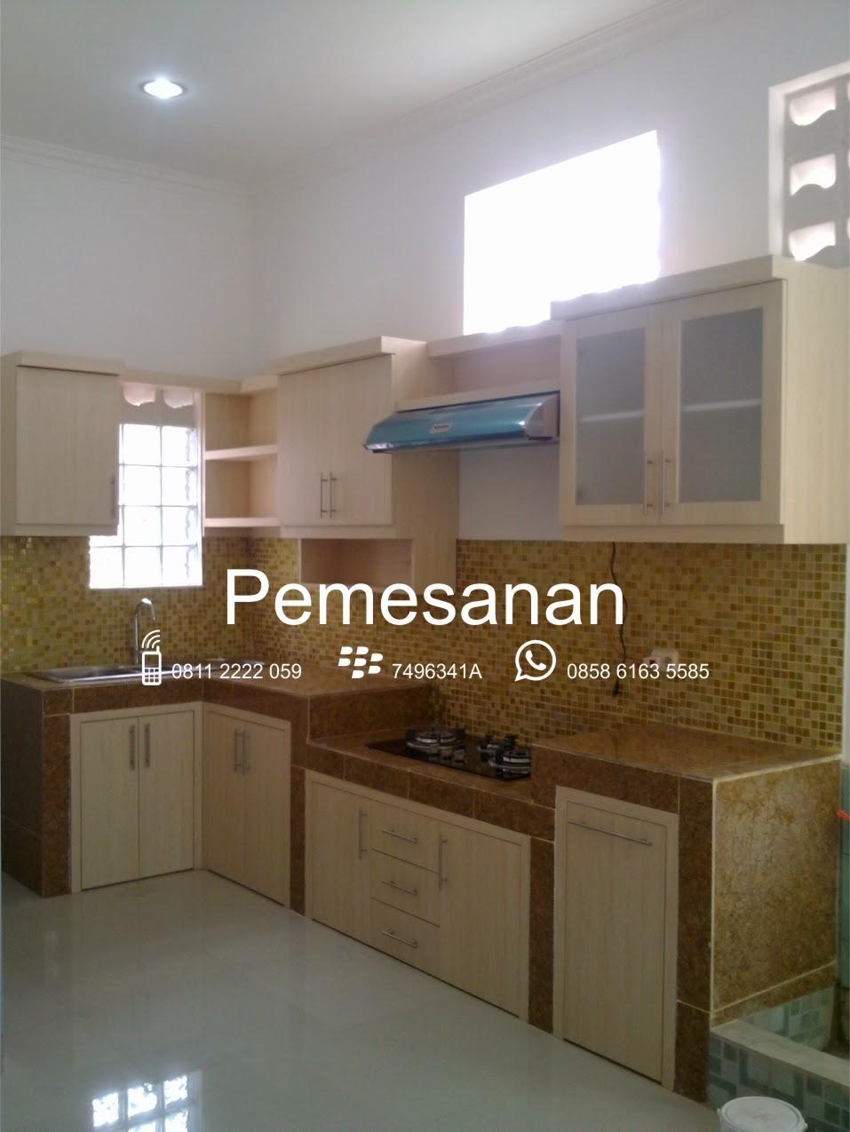 Arsitek sukabumi for Pemasangan kitchen set