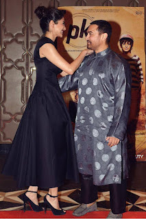 Anushka Sharma & Aamir Khan at PK Success at China party