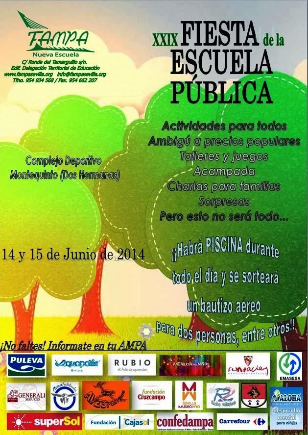 FIESTA ESCUELA PUBLICA 2014