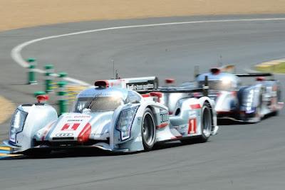 24 H du Mans 2012 Live : Toyota colle Audi