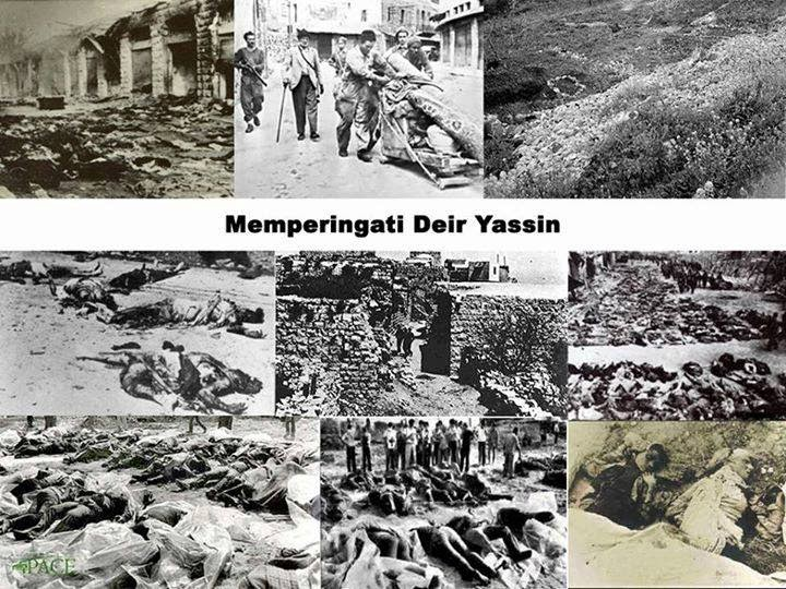 what really happened in deir yassin village in 1948
