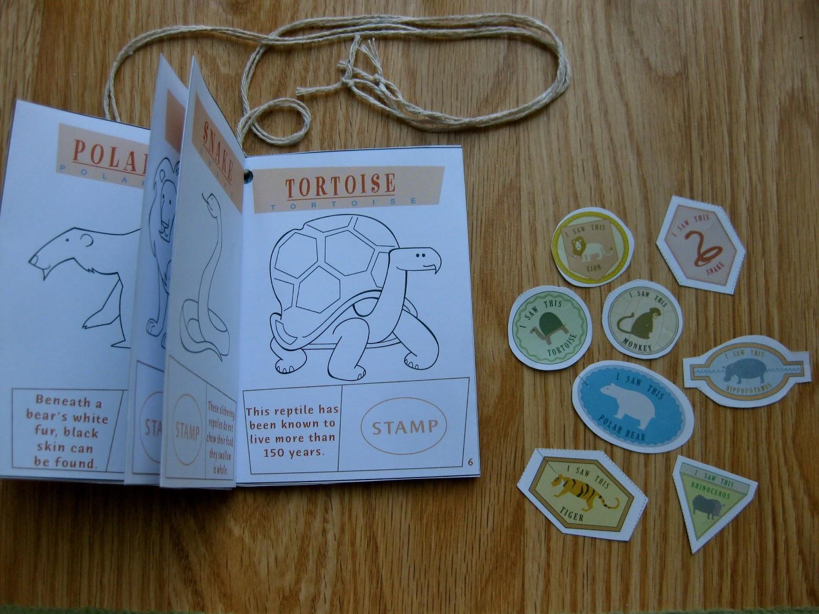 fun passport template - mrs smith 39 s class trip to the zoo