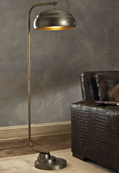 let 39 s stay industrial style floor lamps. Black Bedroom Furniture Sets. Home Design Ideas