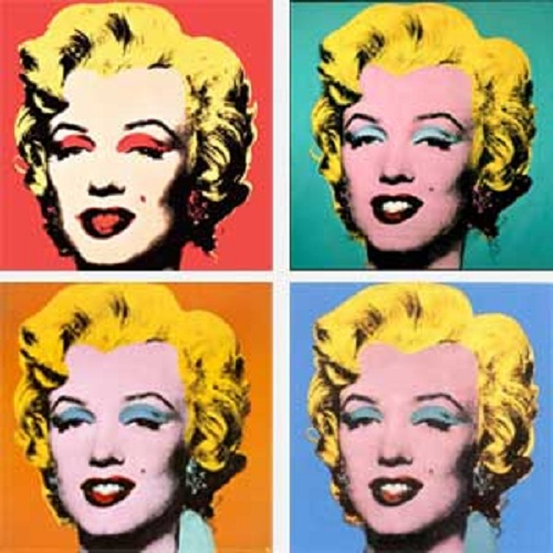 I heart hipster andy warhol - Tableau marilyn monroe ...