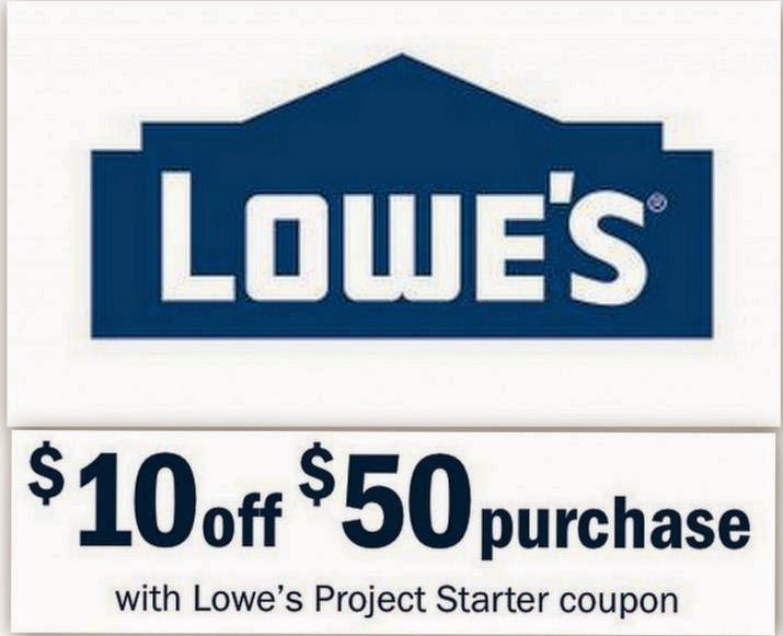 Lowes Coupons January 2016