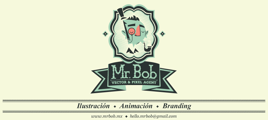 Mr. Bob | vector & pixel agent