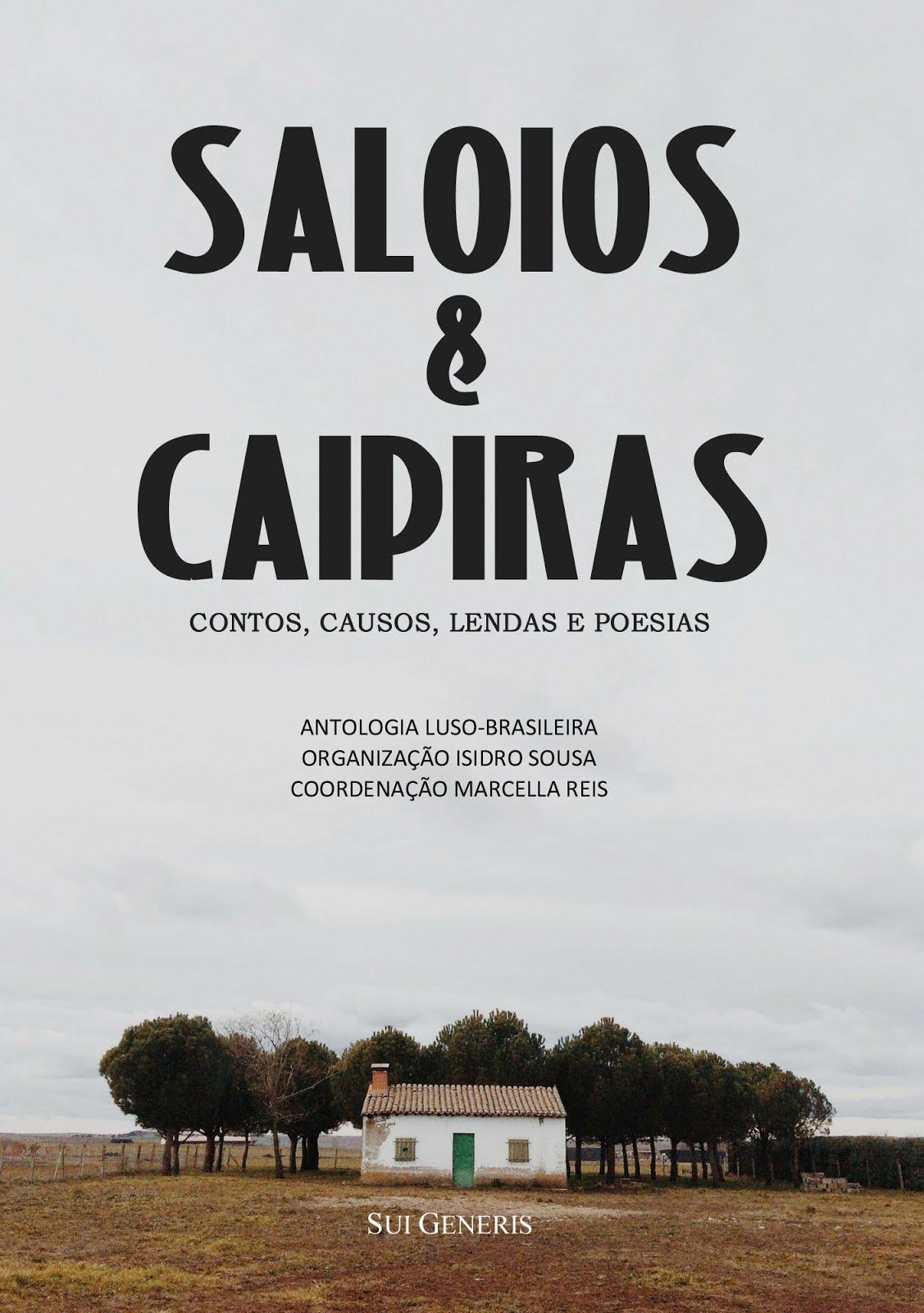 Organizei e Editei a antologia «SALOIOS & CAIPIRAS», que inclui o meu conto «O SEGREDO DE LEONARDO»