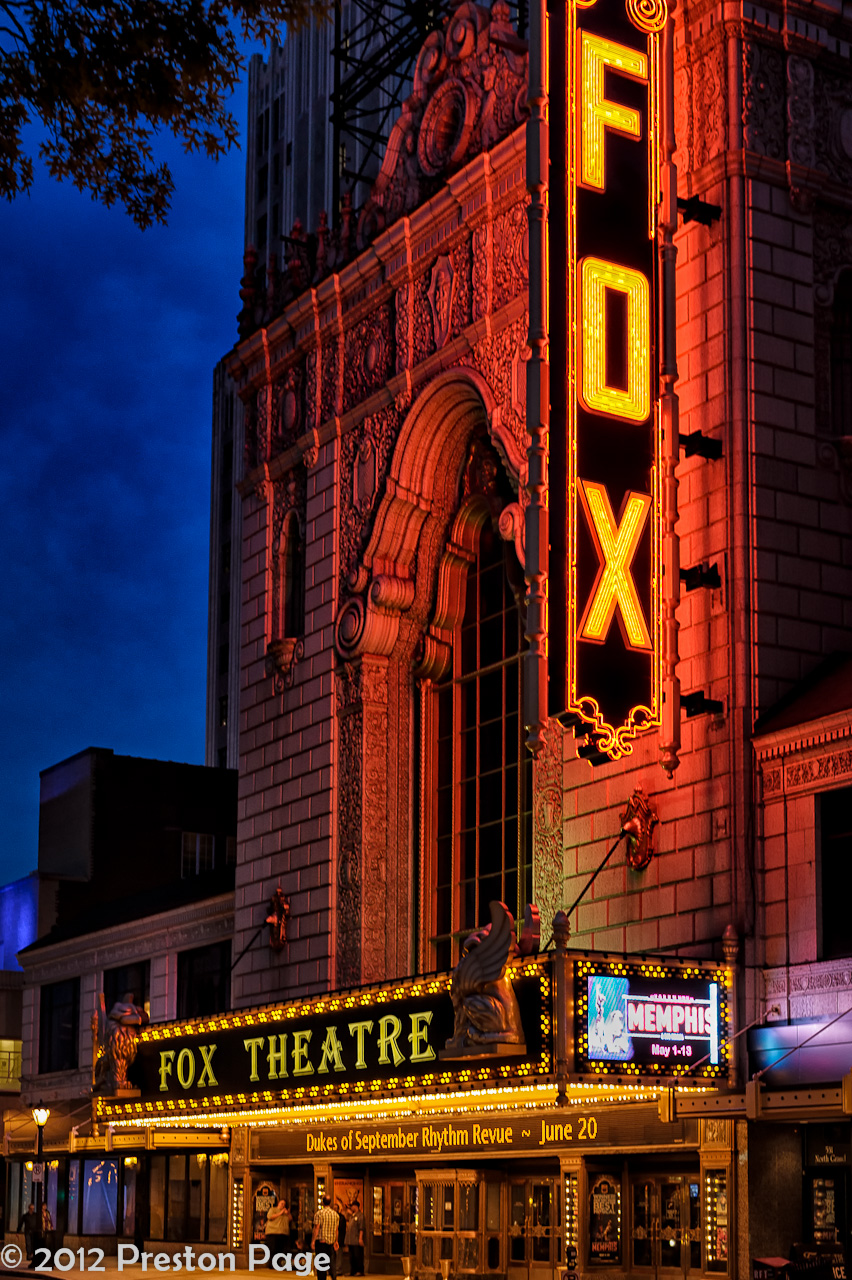 Scenes Of St Louis The Fabulous Fox Theater