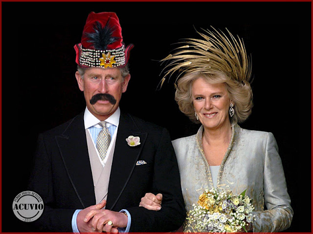 Charles and Camilla de România funny photo