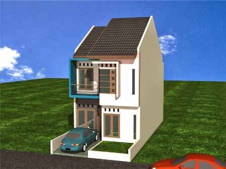 gambar rumah minimalis tipe 21 2 lantai | desain rumah