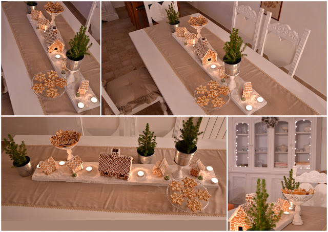 white centerpiece http://shabbychiclife-silvia.blogspot.it